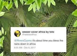 """Weezer """"Africa"""" w wykonaniu Weezer okazała się wielkim przebojem"""