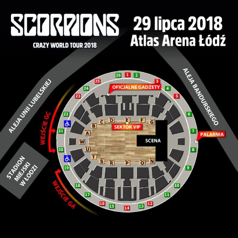Scorpions w Łodzi. Co przed koncertem wiedzieć trzeba!