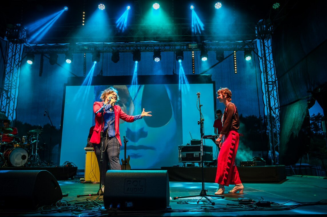 Basia Wronska & Brodka na Firestone Stage