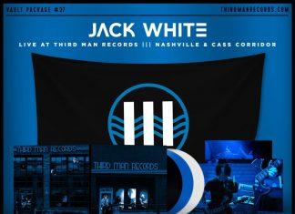 Jack White na niebieskim winylu