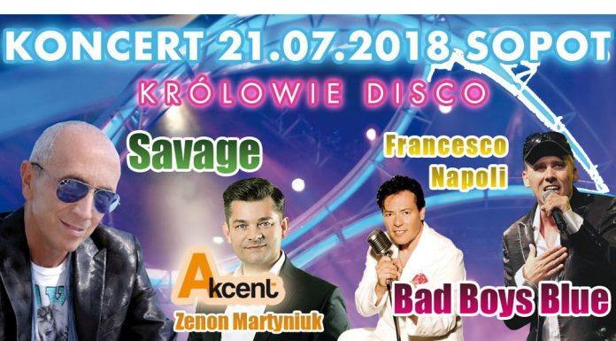 Królowie Disco wystąpią w Sopocie już w najbliższą sobotę!
