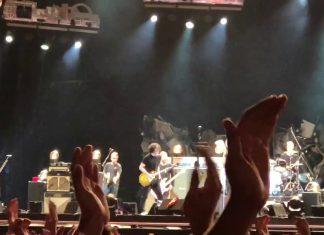 Jack White z Pearl Jam w Portugalii