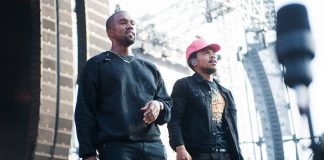 Chance the Rapper i Kanye West pracują w Chicago