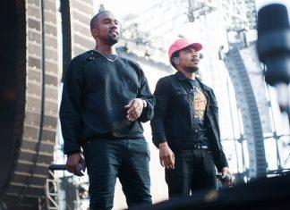 Chance the Rapper i Kanye West pracują w Chicago
