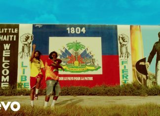 Bas z J. Cole'em w Little Haiti