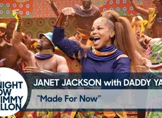 "Janet Jackson śpiewa ""Made for Now"" u Jimmy'ego Fallona"
