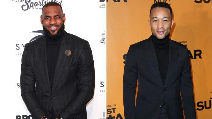 John Legend i LeBron James przerabiają film z Morganem Freemanem