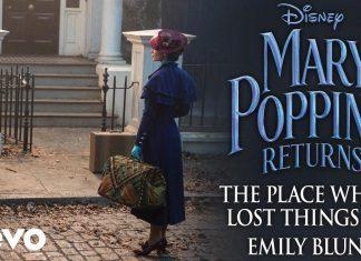 Emily Blunt jest śpiewającą Mary Poppins