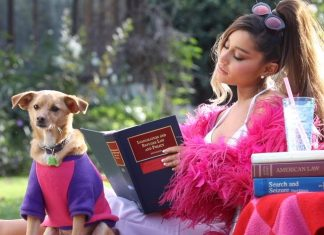 "Ariana Grande na planie klipu ""Thank U, Next"" (WIDEO)"