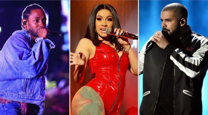 Kendrick Lamar, Drake i Cardi B z szansami na Grammy 2019