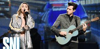 "Miley Cyrus i Mark Ronson w ""Saturday Night Live"" (WIDEO)"