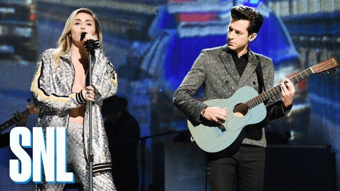 Miley Cyrus i Mark Ronson w