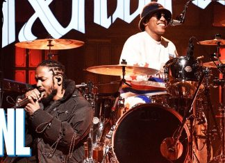 "Anderson .Paak z Kendrickiem Lamarem w ""Saturday Night Live"
