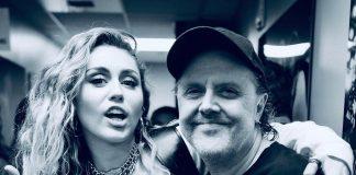Lars Ulrich z Metalliki zachwycił się występem Miley Cyrus podczas koncertu ku pamięci Chrisa Cornella