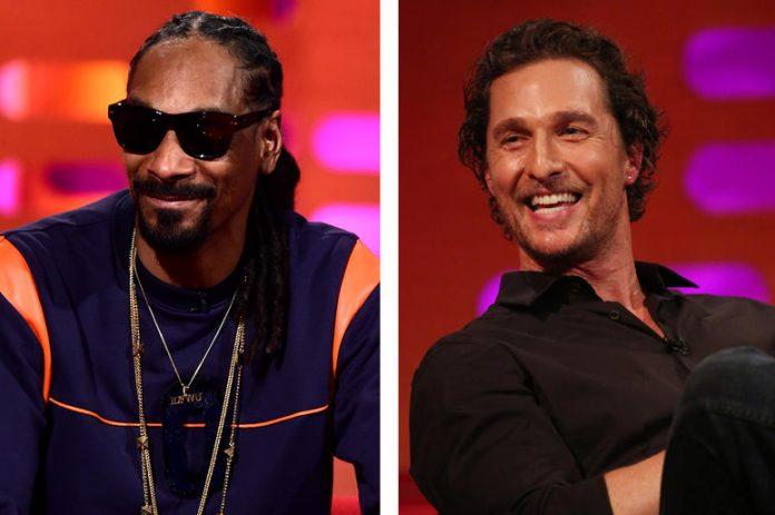 Matthew McConaughey pije, pali i nie ma robali ze Snoop Dogg