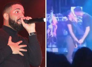 Drake na jednym z ostatnich swoich koncertów pocałował nieletnią fankę