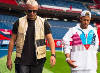 DJ Snake i Neymar razem na boisku