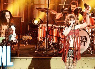 """Grupa Greta Van Fleet zagrała dwie piosenki podczas weekendowego występu w """"Saturday Night Live"""""""