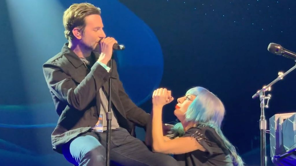 Bradley Cooper i Lady Gaga po raz pierwszy na żywo zaśpiewali w Las Vegas Oscary 2019