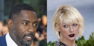 Idris Elba (46 l.) i Taylor Swift (29 l.) podczas uroczystej gali Złotych Globow przedstawiali jedną z nagród.