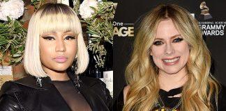 Nicki Minaj przyznała, że była wielką fanką Avril Lavigne i śpiewała jej piosenki pod prysznicem