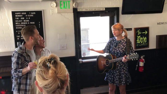 Taylor Swift sama pomagała w organizacji przyjęcia zaręczynowego