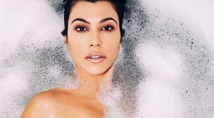 Kourtney Kardashian opublikowała zdjęcie w wannie