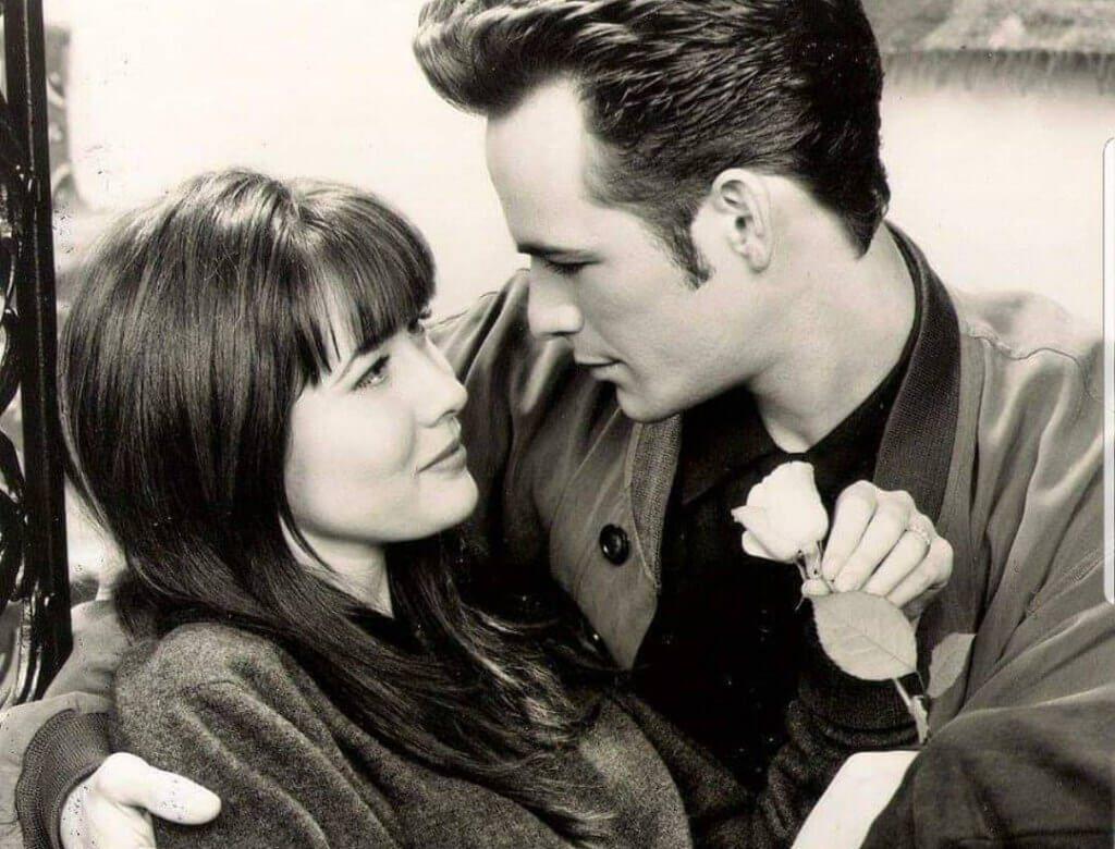 Luke Perry i Shannen Doherty grali razem wiele lat w serialu Beverly Hills 90210
