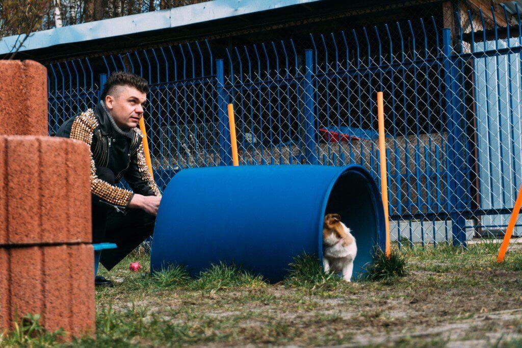 Tomasz Niecik jest wielkim miłośnikiem zwierząt