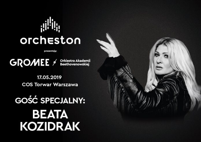 """Beata Kozidrak na pierwszym koncercie Orcheston zaprezentowała symfoniczną wersję utworu Eurythmics """"Sweet Dreams"""" w wyjątkowej aranżacji Gromeego"""