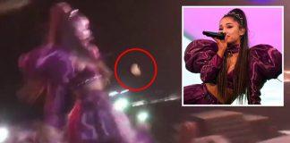 Ariana Grande podczas koncertu Wielkanocnego na festiwalu Coachella została obrzucona cytryną