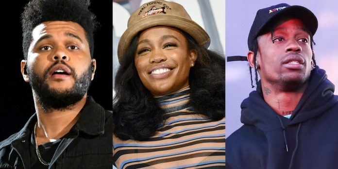 SZA, The Weeknd i Travis Scott zainspirowani