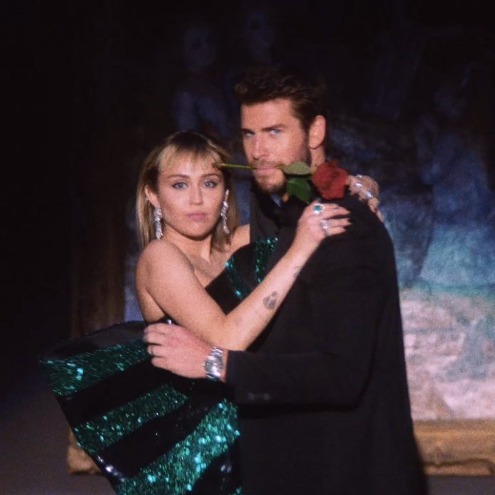 Miley Cyrus i Liam Hemsworth tańczą tango (WIDEO)