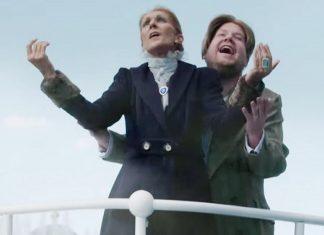 Celine Dion i James Corden na Titaniku w Las Vegas (WIDEO)