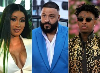 "DJ Khaled, Cardi B i 21 Savage w klipie ""Wish Wish"""