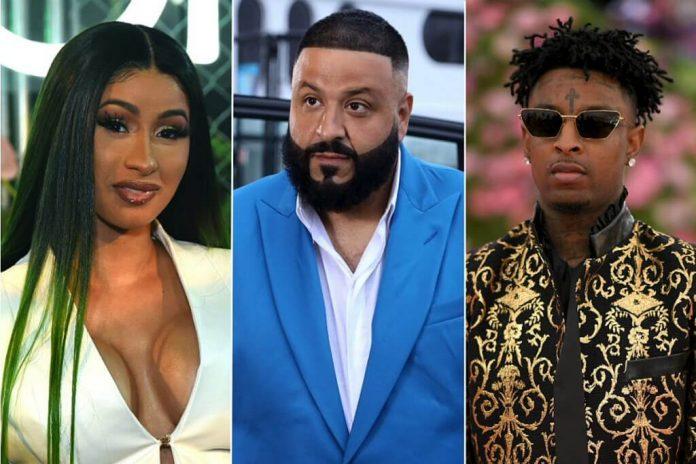 DJ Khaled, Cardi B i 21 Savage w klipie