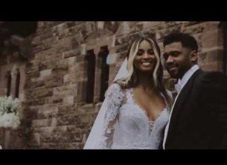 Ciara chwali się ślubem (WIDEO)