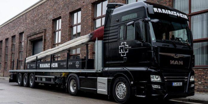 Rammstein Truck Tour w Polsce!