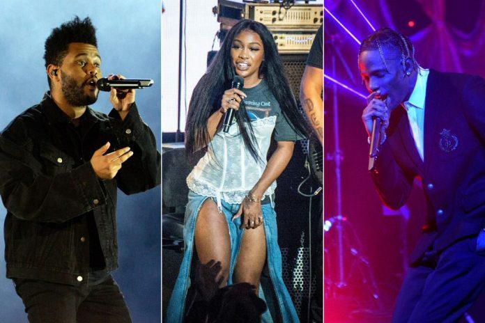SZA, The Weeknd i Travis Scott zasiedli na żelaznym tronie