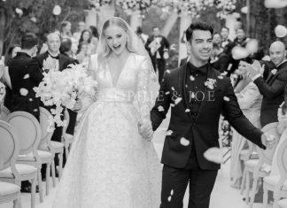 Oto nowożeńcy Joe Jonas i Sophie Turner! Wyglądają zachwycająco (FOTO)