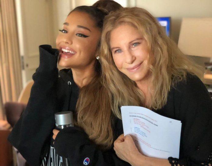 Ariana Grande i Barbra Streisand śpiewają na jednej scenie (WIDEO)