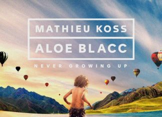 "Mathieu Koss i Aloe Blacc w radosnym ""Never Grow Up"""