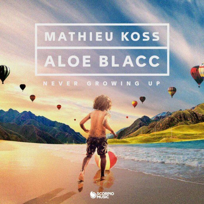 """Mathieu Koss i Aloe Blacc w radosnym """"Never Grow Up"""""""