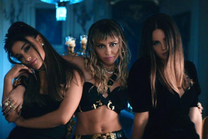Ariana Grande, Lana Del Rey i Miley Cyrus: Zobacz nową tekstówkę!