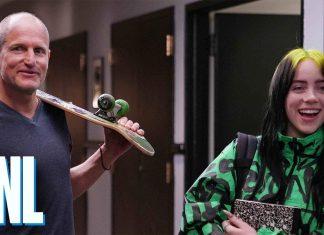 Woody Harrelson przewodnikiem Billie Eilish (WIDEO)