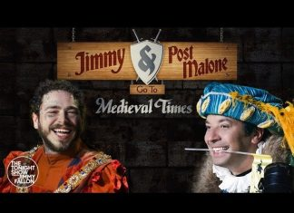 Lord Post Malone walczy z Jimmym Fallonem (WIDEO)