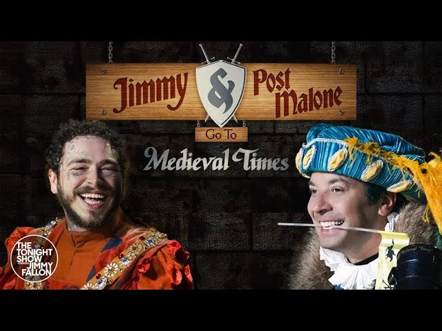 Lord Post Malone walczy z Jimmym Fallonem (WIDEO)
