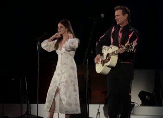 Lana Del Rey z Chrisem Isaakiem