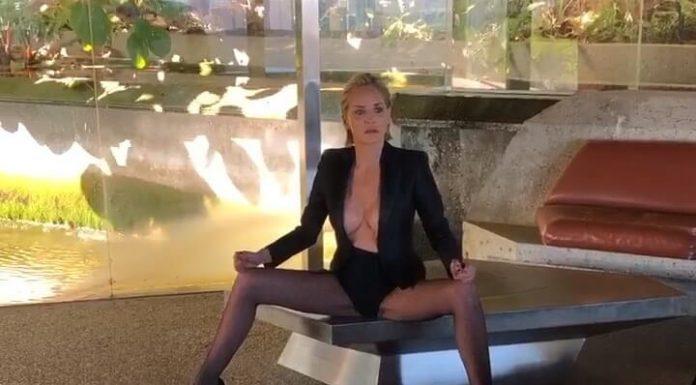 """Sharon Stone podała do sądu za piosenkę """"Sharon Stoned"""""""