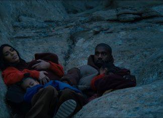 Kanye West z rodziną w górach (WIDEO)